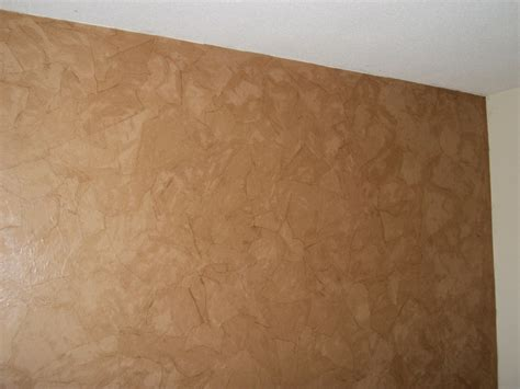 Paper Bag Procedure - faux leather wall with brown paper tear pieces and