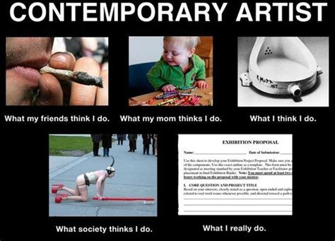 Painter Meme - the artist who started the what people think i do what i