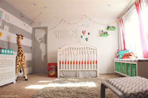 Neutral Nursery Decor Air Balloon Inspired Decorations That Will Take You To Cloud Nine