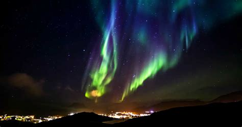 where are the northern lights visible the northern lights will be visible across canada tonight
