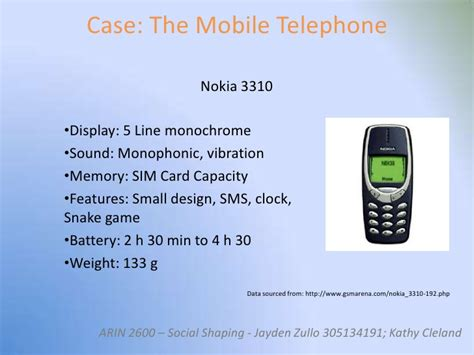 Casing Depan Nokia 5110 Motif social shaping of technology