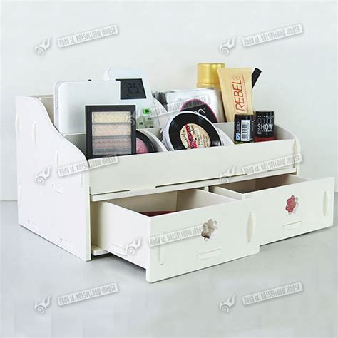new desk tidy make up organiser storage box with
