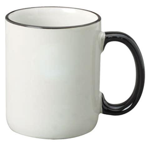 coffee mug handle 12 oz halo c handle coffee mug black 11359 splendids