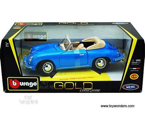 Diecast Bburago 118 Porsche 356b Cabriolet Merah bburago gold porsche 356b cabriolet convertible 1961 1