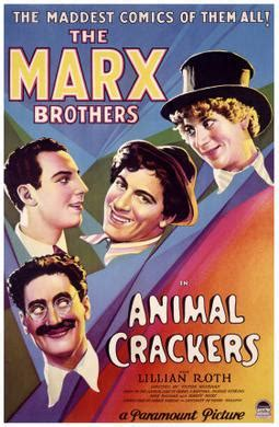 the marx brothers happy confidential books file animal crackers poster jpg