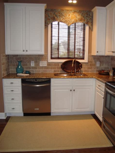 over the sink kitchen window treatments is the window treatment over the sink custom or could i