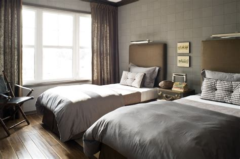 taupe bedroom walls headboard lighting contemporary boy s room toronto