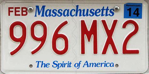 Vanity Plates Massachusetts by Massachusetts 2 Y2k