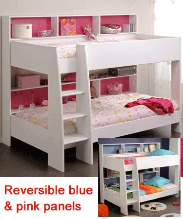 bunk bed with shelves parisot tam tam white bunk bed with shelves childrens