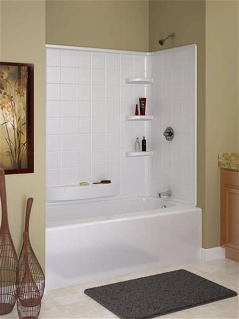 one piece bathtub wall surround 1000 images about bathtub surrounds on pinterest