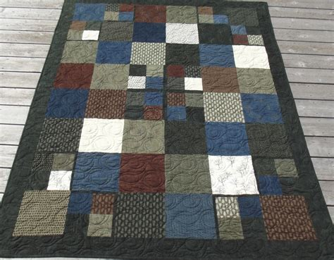 Flannel Quilt Pattern by Kaelly Studio The Cuddly Flannel Quilt
