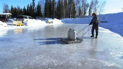 backyard ice resurfacer backyard ice rink plans