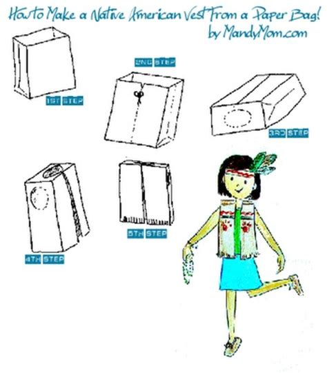 How To Make A Paper Bag Vest - indian vests out of paper bags the precious mind