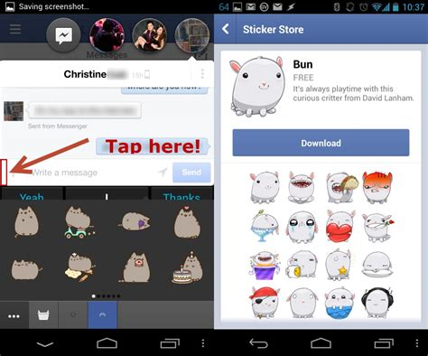how to free to android messenger for android has stickers