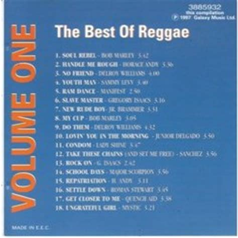 Cd Reggae Best Sellers the best of reggae volume 1 by various artists cd with pycvinyl ref 114893984