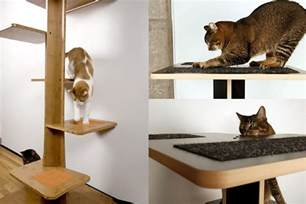spoil your lovely cats with contemporary cat furniture