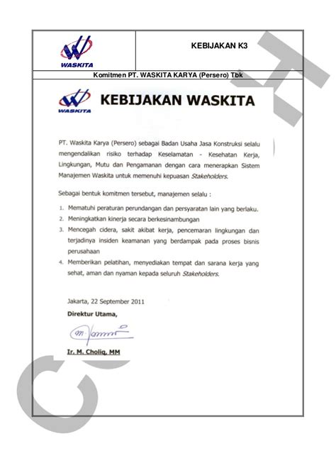 contoh construction safety plan