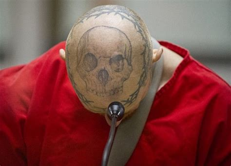 tattoo eye criminal jason barnum with tattooed eyeball jailed after shooting