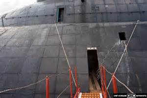 inside submarine inside a russian typhoon class