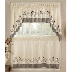 Birdhouse Kitchen Curtains Chf Birds Kitchen Curtain Kitchen Curtains