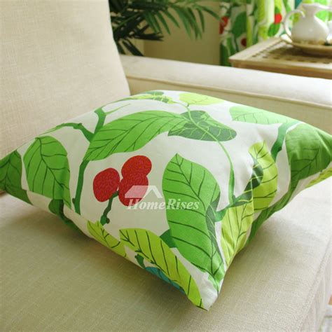 throw pillows for green couch country tree cotton square couch green throw pillows