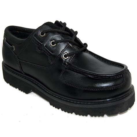rugged sneakers top grade premium leather s black rugged shoes