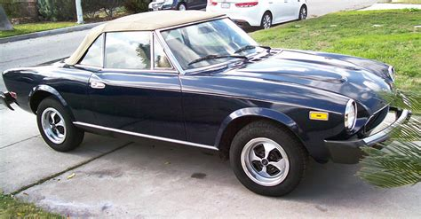 fiat 124 spider ebay motors fiat is not just a tiny car and never has been ebay