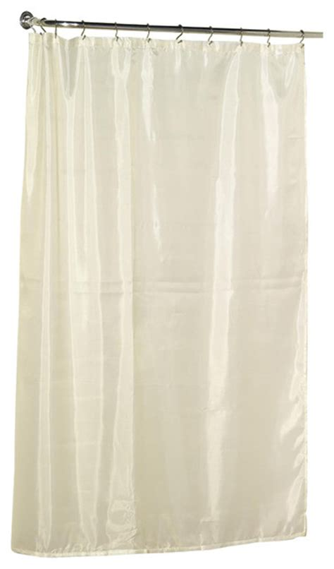 extra long cream curtains carnation home extra long 84 polyester shower curtain