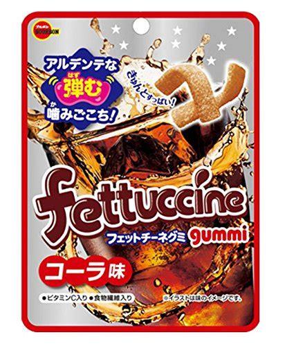 Bourbon Fettuccine Soda Gummy japan bourbon fettuccine gummy grape japanese
