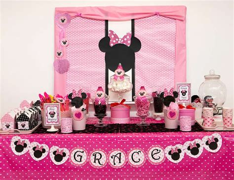 Minnie Mouse St Birthday Decorations by Minnie Mouse Birthday Quot Grace S Minnie Mouse 2nd Birthday