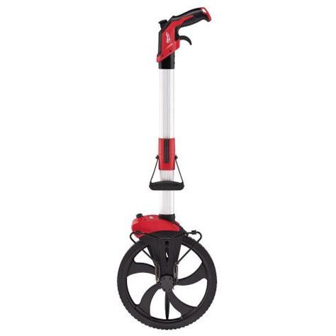 milwaukee  aluminum measuring wheel tool box buzz