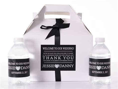 Wedding Box Message by Simple Message Wedding Favor Boxes Labelsrus