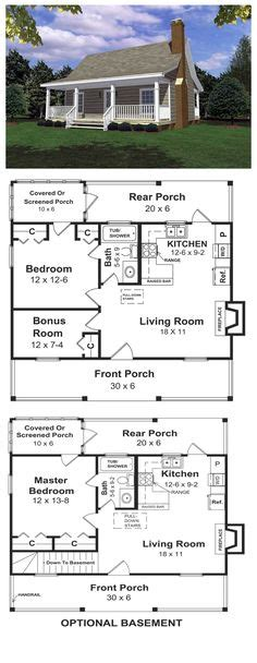 house plan 99971 cottage vacation plan with 598 sq ft house plan 99971 cottage vacation plan with 598 sq ft