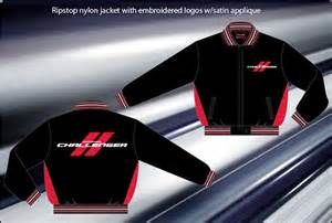 Dodge Charger Jacket Dodge Challenger Light Weight Ripstop Fleece Lined