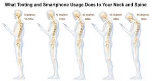 here s what texting is doing to your neck and spine and