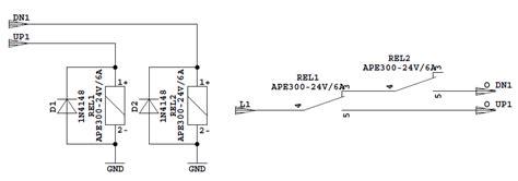 jalousie schaltplan relaisplatine f 252 r raffstore jalousien mikrocontroller net