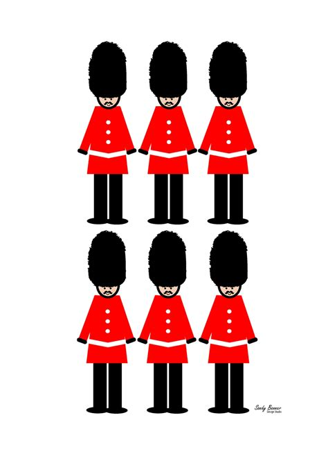 Best Website For Home Decor london guard print felt