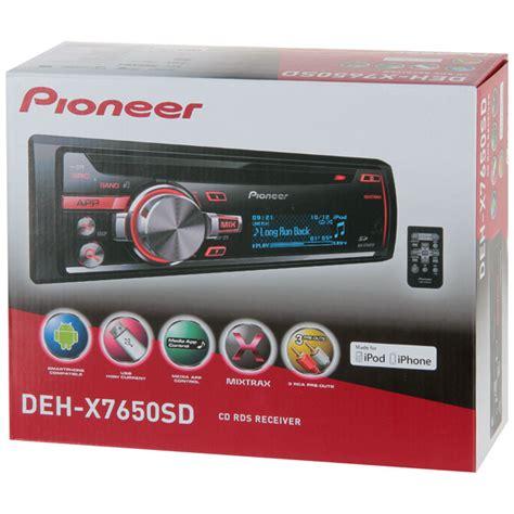 Pioneer Deh X7650sd pioneer deh x7650sd
