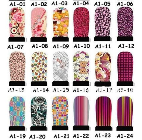 Nail Stickers by Nail Decal Designs Images