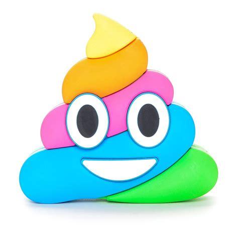 imagenes de emoji pop dash charms 174 rainbow poop emoji power bank portable