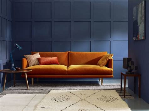 room with couch best 25 orange living rooms ideas on pinterest orange