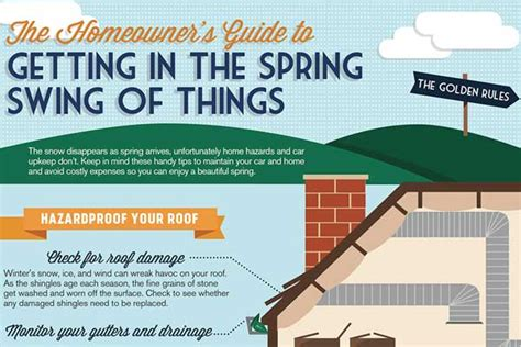 spring home tips spring home maintenance checklist submit infographic