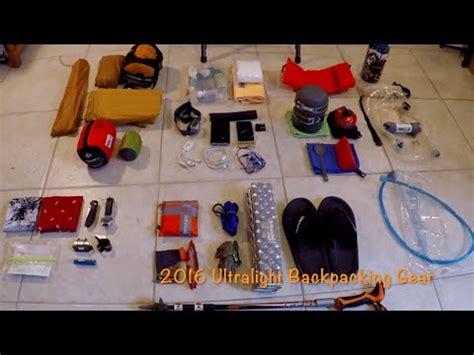 backpacking 01 gear list semi ultralight ultralight gear backpacking on a budget funnydog tv
