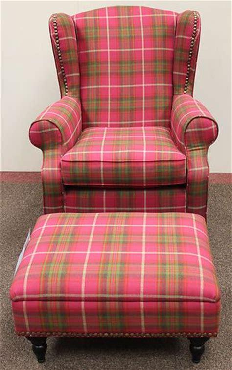 Pink Tartan Armchair Details About New Next Sherlock Gosford Armchair
