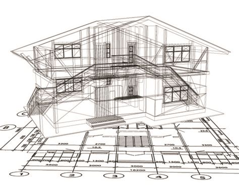 layout design of building set layout of the building design vector graphics 02