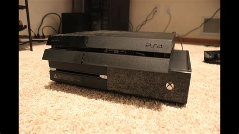 ps4 console vs xbox one playstation 4 vs xbox one console size and
