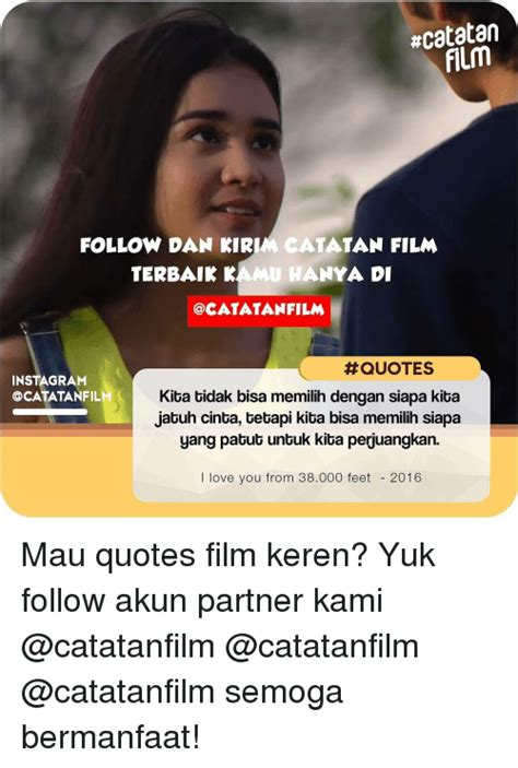 Quote Film Terbaik | 25 best memes about quote and indonesian language