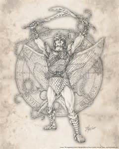 archangel camael by jayfrench on deviantart