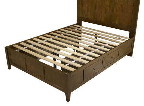solid wood storage bed modus paragon solid wood storage bed