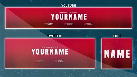 What Is A Youtube Banner Template Banner Template 2017